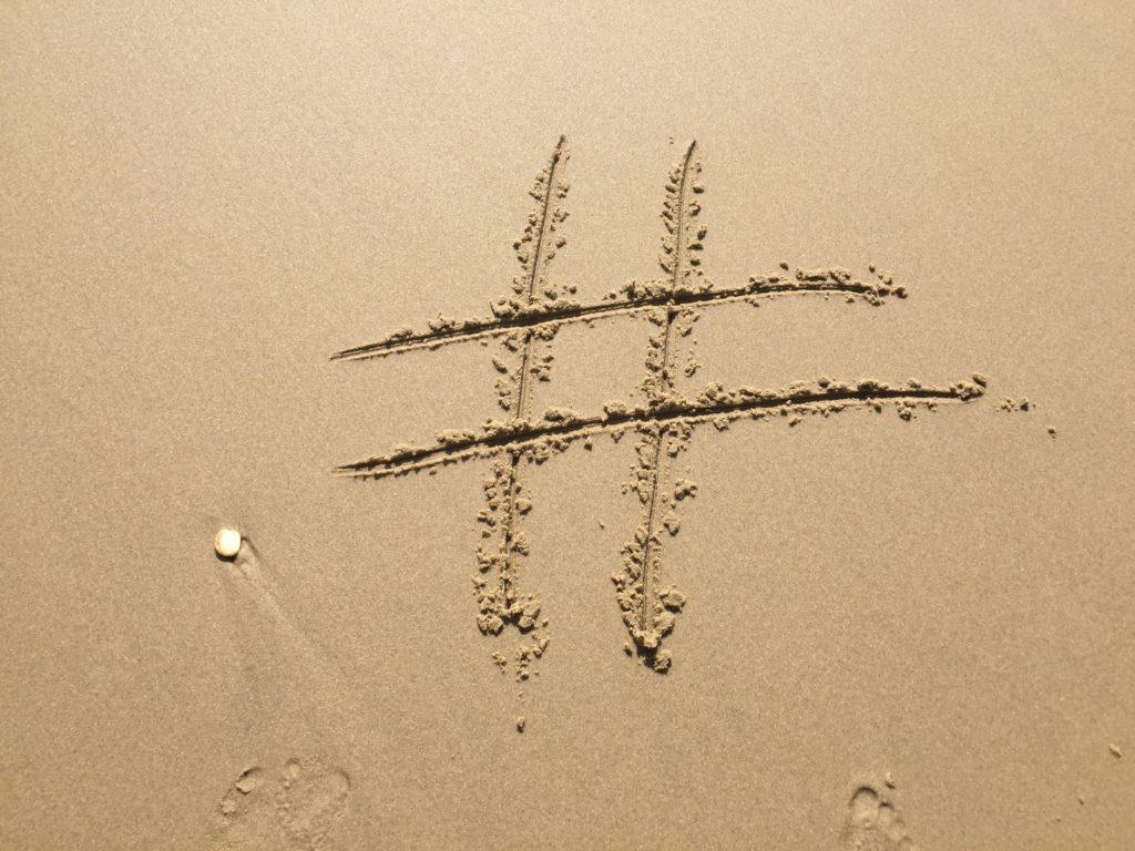 making hashtags