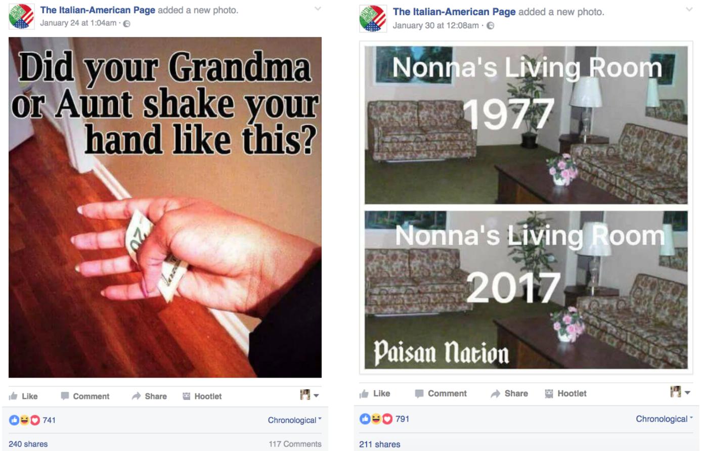 Facebook fun posts