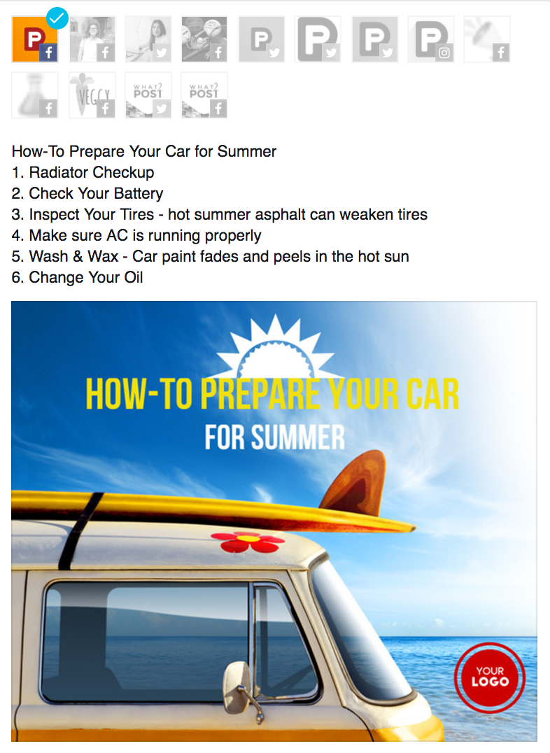 car tips infographic