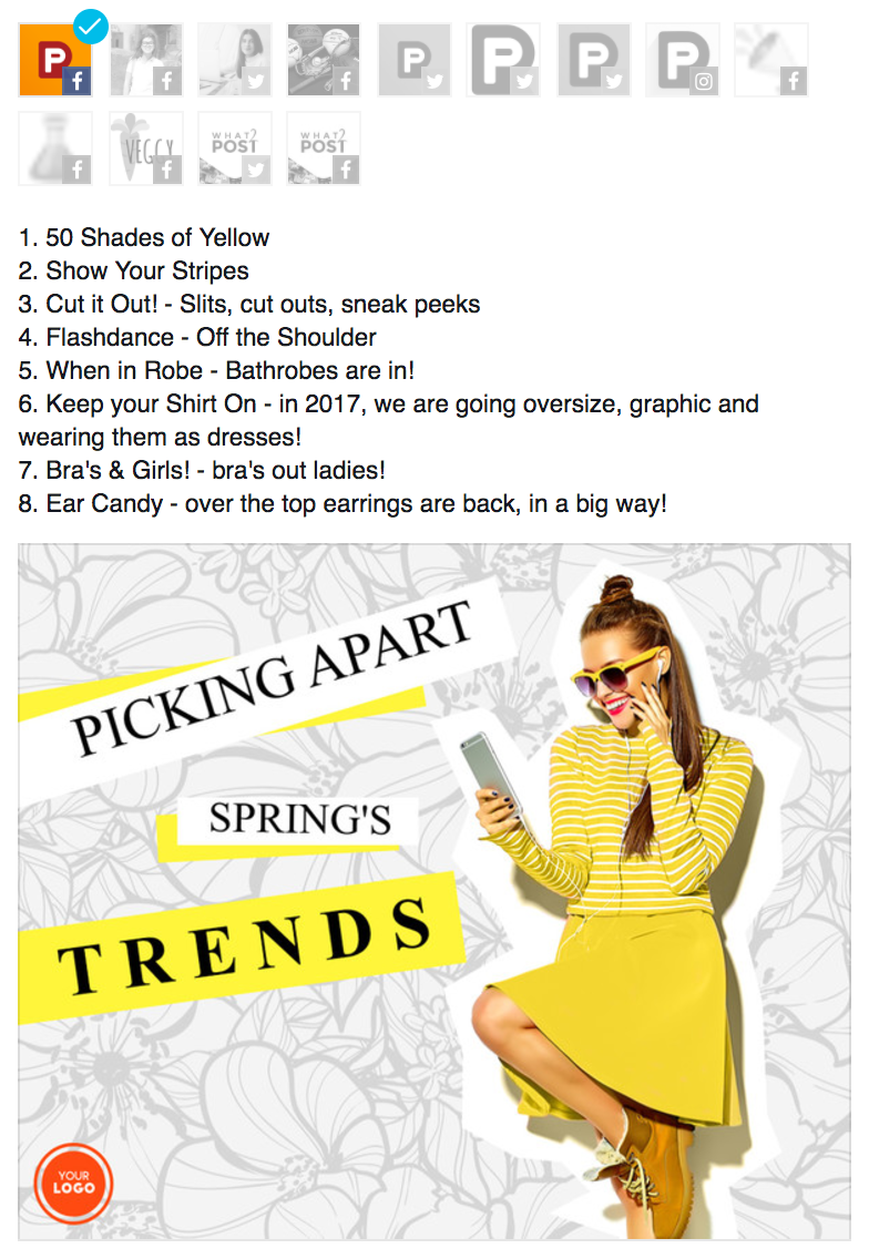 spring trends example