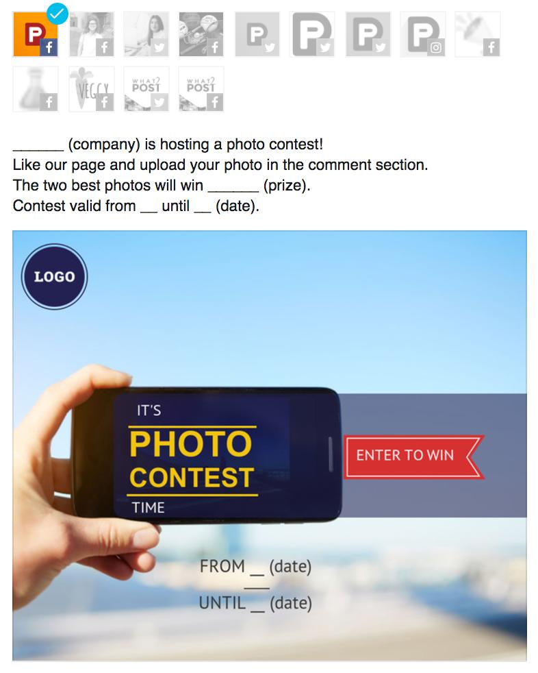photo contest example