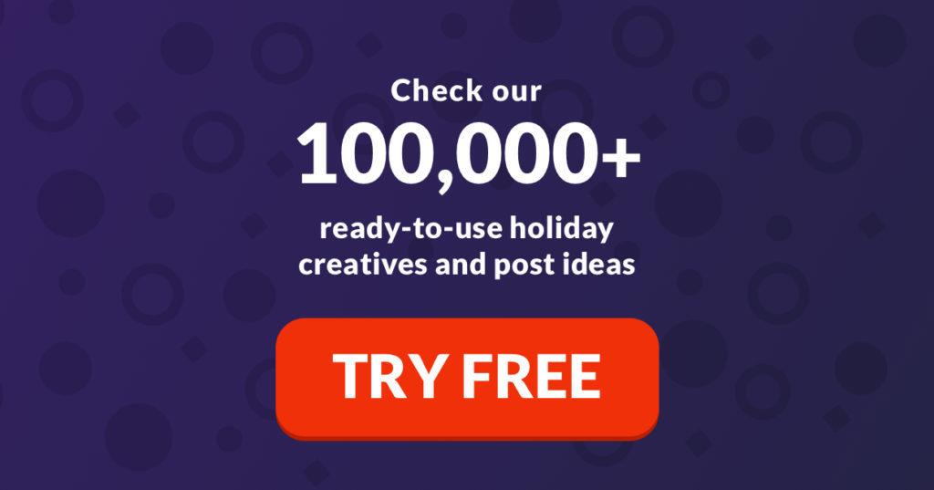 ready social media posts, ideas, and visuals