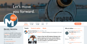 Create a valuable Twitter page