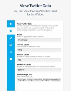 WordPress Twitter feeds