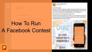 contest on Facebook