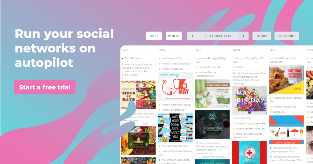 social media management tool for marketers