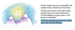 Image-based or inspiring quotes