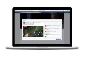 create a Facebook live video