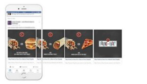 Experiment with new advertising formats