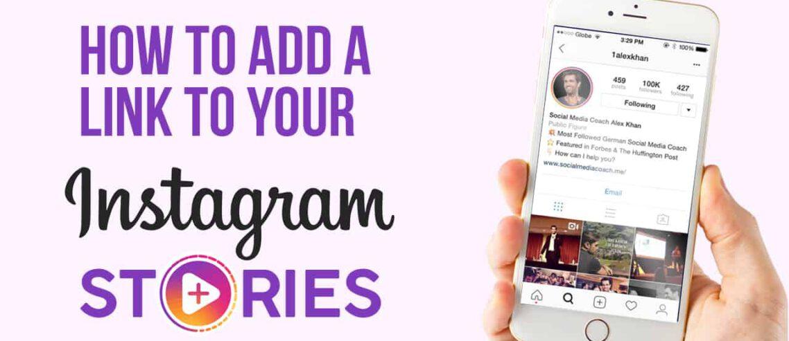 add links to Instagram