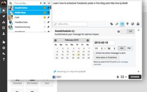 Optimize your posting schedule