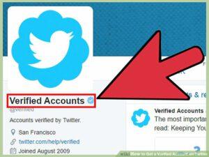 Twitter`s verification