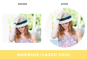 Edit your photos with different tools