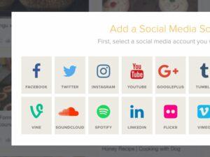Control your social media feeds